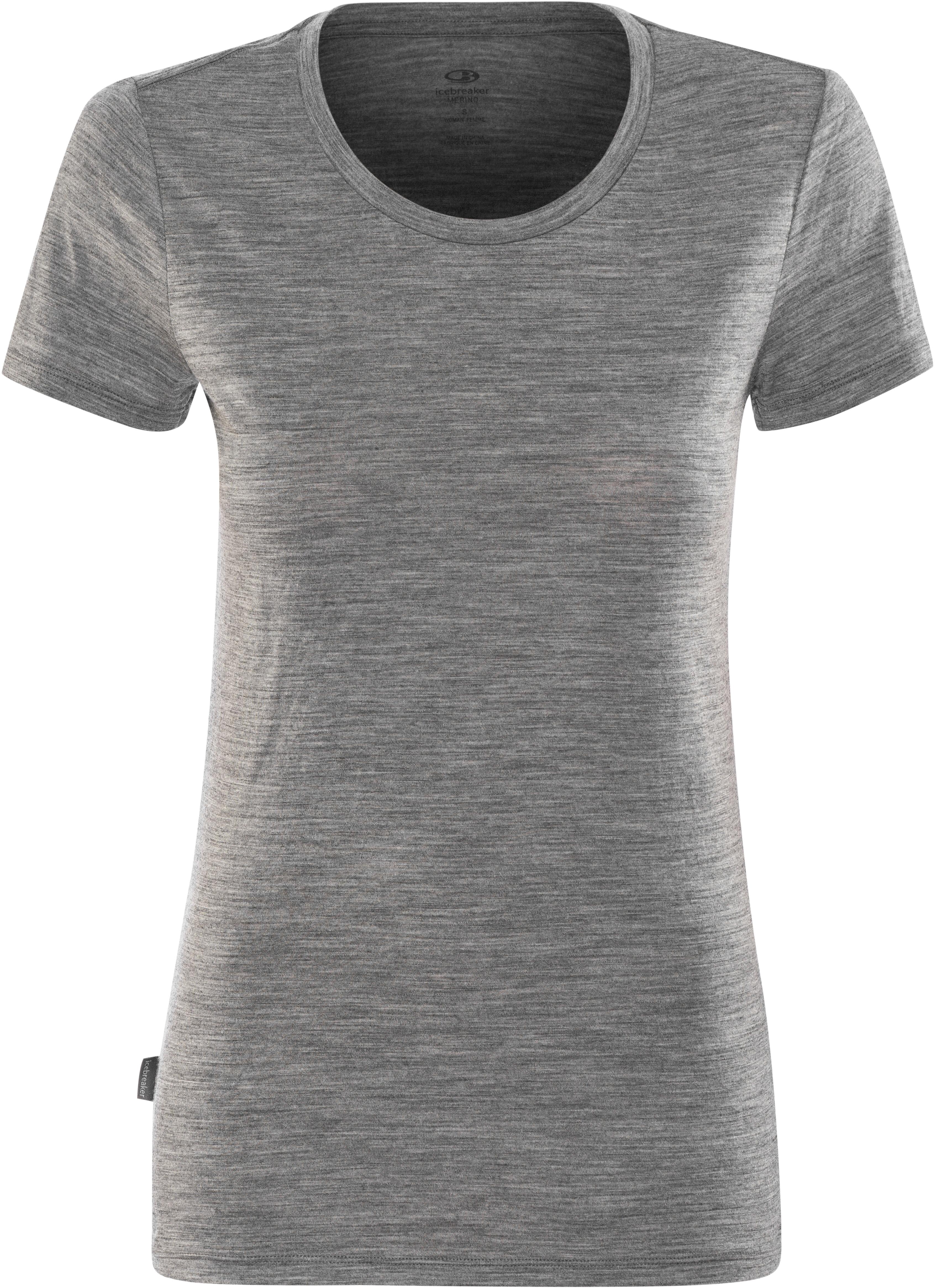 043425974e6 Icebreaker Tech Lite - T-shirt manches courtes Femme - gris